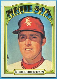 1972 Topps Baseball Cards      618     Rich Robertson